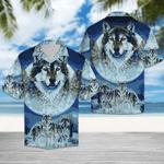 Wolf Hawaiian Shirt | For Men & Women | Adult | HW6542