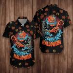 Scary Pumpkin Halloween Hawaiian Shirt   For Men & Women   Adult   HW7640