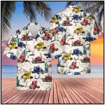 Semi Trailer Truck Hawaiian Shirt | For Men & Women | Adult | HW7056