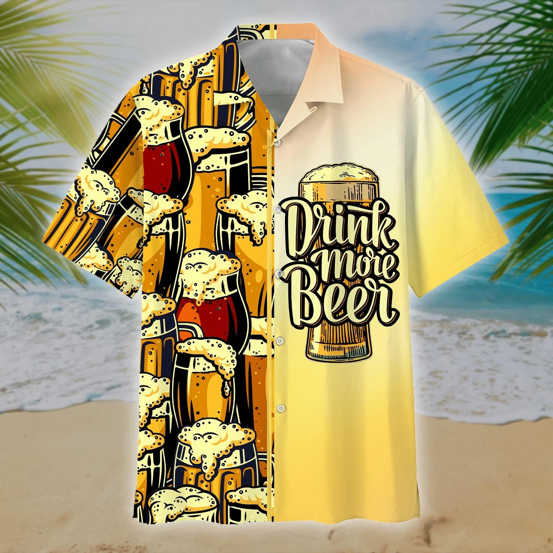 Beer Hawaiian Shirt   For Men & Women   Adult   HW7245