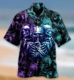 Skull Neither Hear Nor See Hawaiian Shirt | For Men & Women | Adult | HW7439