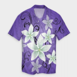 Plumeria Polynesian Hawaiian Shirt   For Men & Women   Adult   HW6802