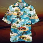 Beach and Jeeps Hawaiian Shirt   For Men & Women   Adult   HW7227