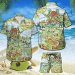 Amazing Vintage Farm House Hawaiian Shirt Set | Unisex | HS1091