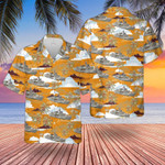 Canadian Navy Hawaiian Shirt | For Men & Women | Adult | HW7328
