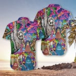 Sloth Hippie Hawaiian Shirt   For Men & Women   Adult   HW7184
