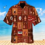Music Coffee Hawaiian Shirt   For Men & Women   Adult   HW6586
