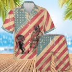 United States Veteran Hawaiian Shirt Set | Unisex | HS1118