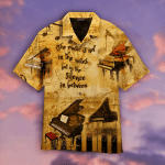 The Music Is In The Silence Between Piano Hawaiian Shirt | For Men & Women | Adult | HW4644