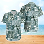 Blue Pattern Hawaiian Shirt | For Men & Women | Adult | HW6999
