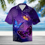 Butterfly Purple Hawaiian Shirt | For Men & Women | Adult | HW6363