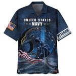 US Navy Veteran Eagle Hawaiian Shirt | For Men & Women | Adult | HW6693