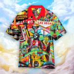 America Pop Art Colorful Hawaiian Shirt   For Men & Women   Adult   HW4811