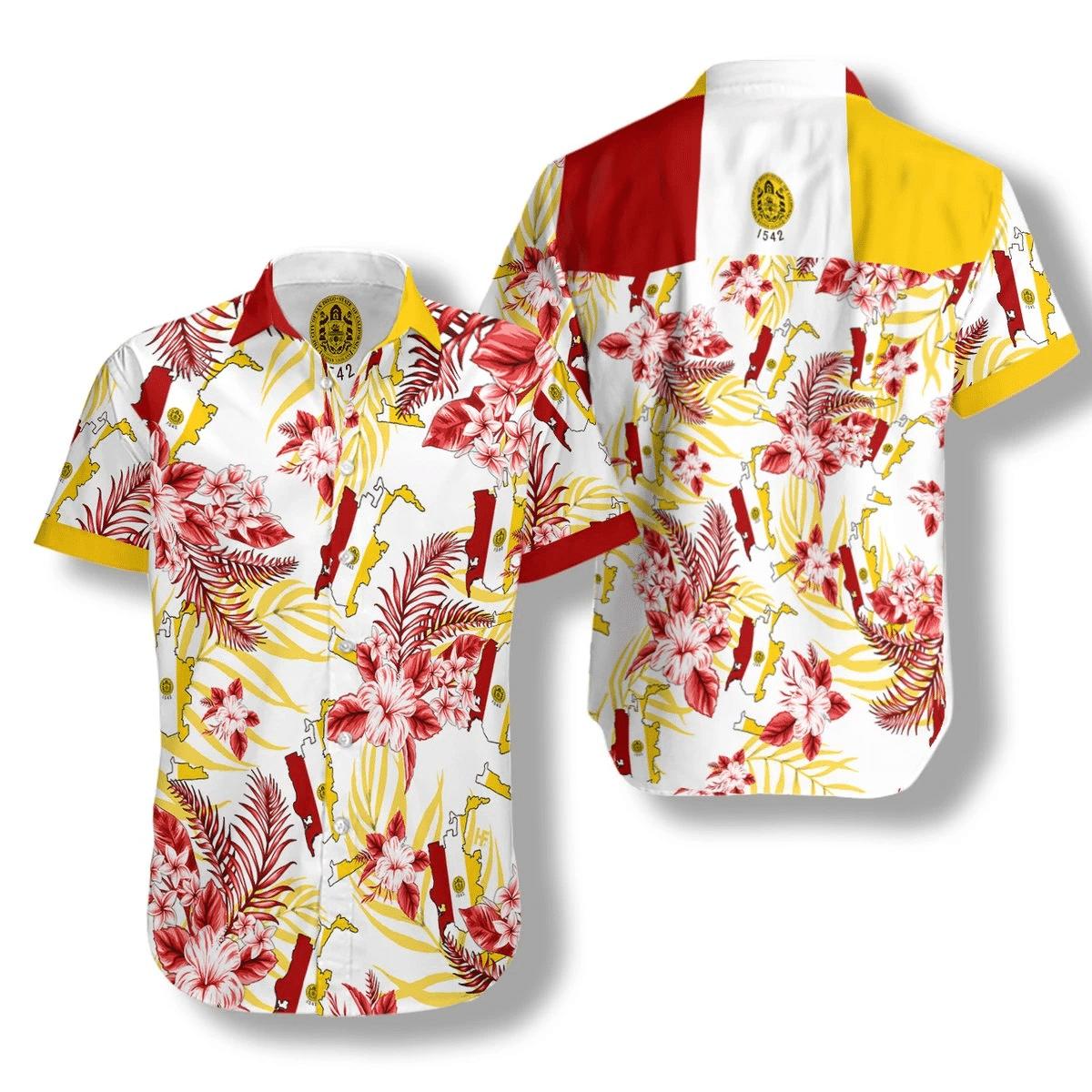 San Diego Proud Hawaiian Shirt   For Men & Women   Adult   HW7173