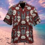 Skull Hawaiian Shirt | For Men & Women | Adult | HW6591