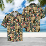 Tropical Alpaca Hawaiian Shirt   For Men & Women   Adult   HW6346