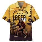 Bigfoot And Pug I Hate People Hawaiian Shirt | For Men & Women | Adult | HW7611