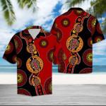 Turtle Turquoise Circles Hawaiian Shirt   For Men & Women   Adult   HW6376