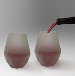 Silicone red wine cup