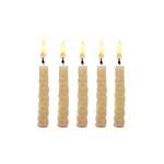 Natural beeswax candle set