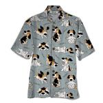 Tropical Summer Aloha Hawaiian Shirt Beagle QL-HG1554