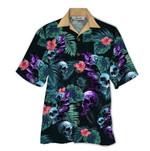 Tropical Summer Aloha Hawaiian Shirt Skull QL-NQ09