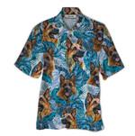 Tropical Summer Aloha Hawaiian Shirt German Shepherd QL-HG1535