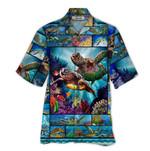 Tropical Summer Aloha Hawaiian Shirt Turtle QL-TH1287