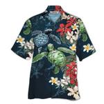 Tropical Summer Aloha Hawaiian Shirt Turtle QL-NQ02