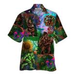 Tropical Summer Aloha Hawaiian Shirt Bigfoot Hippie HD-NQ08