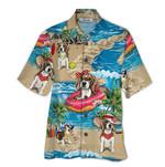 Tropical Summer Aloha Hawaiian Shirt Beagle QL-NQ06