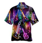 Tropical Summer Aloha Hawaiian Shirt Guitar HD-NQ09
