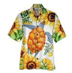 Tropical Summer Aloha Hawaiian Shirt Turtle QL-HG1534
