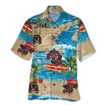 Tropical Summer Aloha Hawaiian Shirt Dachshund QL-NQ05