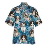 Tropical Summer Aloha Hawaiian Shirt Shih Tzu QL-HG1539