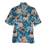 Tropical Summer Aloha Hawaiian Shirt Pugs QL-HG1538
