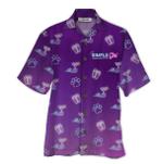 Tropical Summer Aloha Hawaiian Shirt Simple Girl HD-LC06