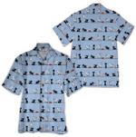 Tropical Summer Aloha Hawaiian Shirt Cat HD-LC08