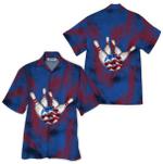 Tropical Summer Aloha Hawaiian Shirt Bowling HD-LC21