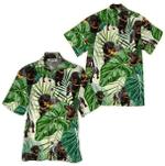 Tropical Summer Aloha Hawaiian Shirt Dachshund HD-LC10