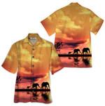 Tropical Summer Aloha Hawaiian Shirt Elephant HD-HG12