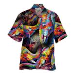 Tropical Summer Aloha Hawaiian Shirt Elephant HD-LC01