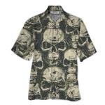 Tropical Summer Aloha Hawaiian Shirt Skull QL-HG1493