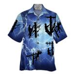 Tropical Summer Aloha Hawaiian Shirt Lineman HD-DD18