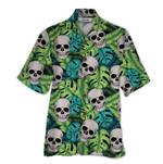 Tropical Summer Aloha Hawaiian Shirt Skull QL-HG1492