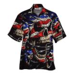 Tropical Summer Aloha Hawaiian Shirt Skull HH-LC01
