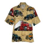 Tropical Summer Aloha Hawaiian Shirt Truck Driver HD-LC05