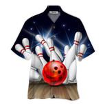 Tropical Summer Aloha Hawaiian Shirt Bowling HD-TH11