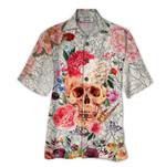 Tropical Summer Aloha Hawaiian Shirt Skull HD-TH10