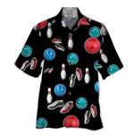 Tropical Summer Aloha Hawaiian Shirt Bowling HD-DD15